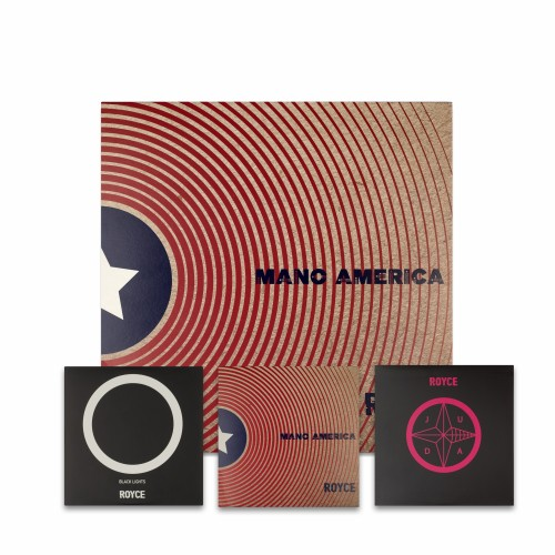 ROYCE - Juda Mano America + Black Lights LP + 3 CD