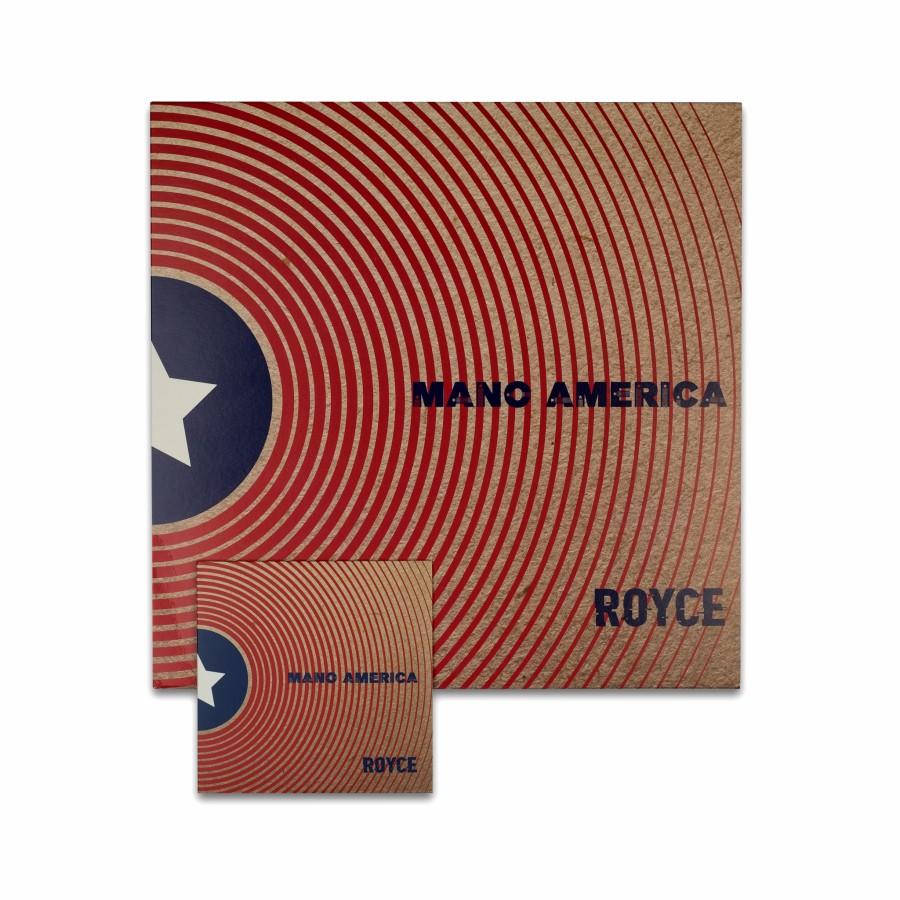 ROYCE - Mano America LP+CD